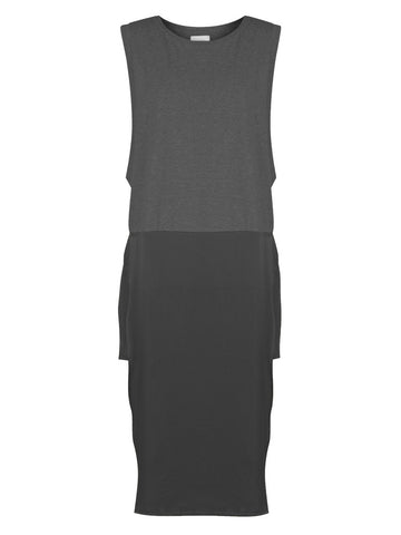 HIDEAWAY TANK DRESS – BLACK