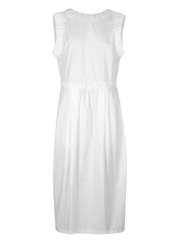 LENNON TANK DRESS – WHITE