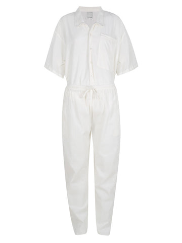 Loungewear - Linen Pyjama Set – Off white