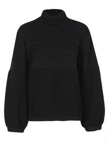 CHLOE WOOL JUMPER - Noir