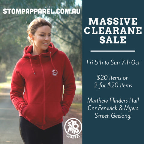 Massive Clearance Sale Oct 2018