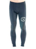 Men's Lite Compression Pants Black Front Modelled
