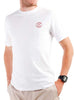 Men's Cotton T-Shirt White Front Modelled