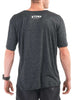 Men's Light T-Shirt Rear Black Modelled
