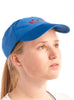 Sports Cap Blue Modelled