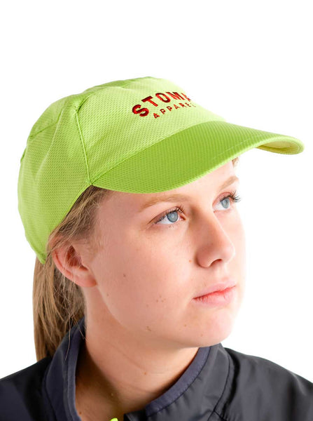 Sports Cap Green Modelled