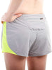 Women's Athletic Shorts Rear Grey Modelled