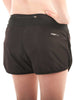 Women's Fitted Shorts Rear Black Modelled