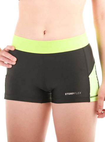 Women's Yoga Shorts.           StompFLEX