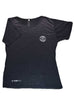 Women's Light T-Shirt Front Black