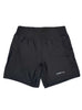 Womens Yoga Shorts Front Black