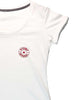 Women's Cotton T-Shirt Front White