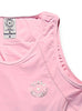 Women's Sports Traditional Singlet Front Pink