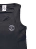 Women's Sports Traditional Singlet Front Black