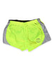 Women's Athletic Shorts Front Lime