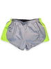 Women's Athletic Shorts Front Grey