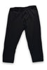 Women's 3/4 Leggings Front Black