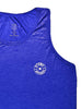 Men's Light Singlet Front Blue