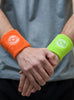 Stomp Sweatband - Orange & Lime Combo