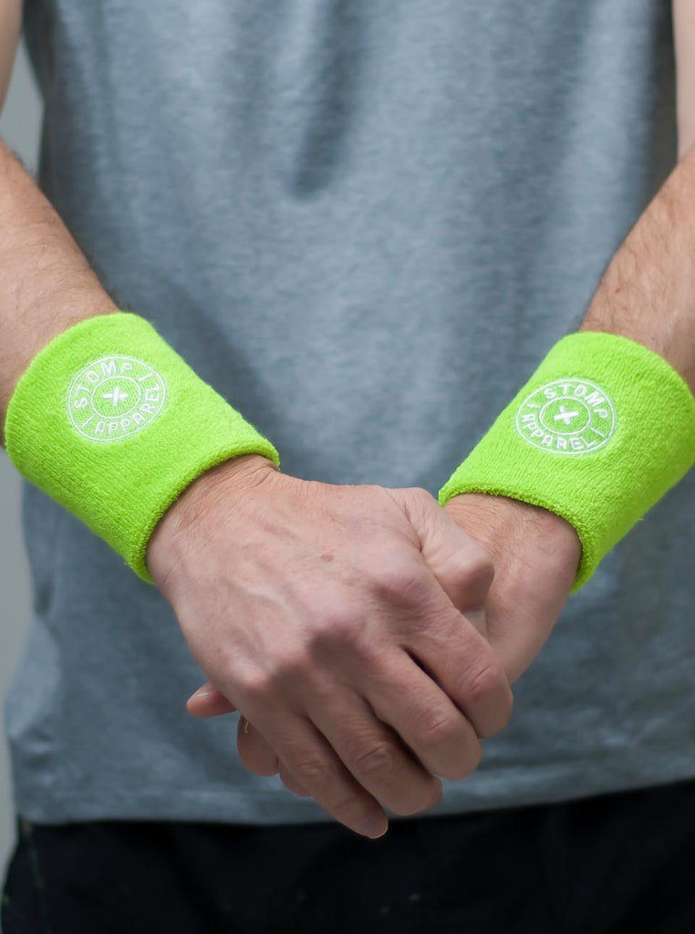 Stomp Sweatband - Lime