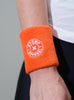 Stomp Sweatband - Orange - Detail