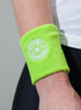 Stomp Sweatband - Lime - Detail