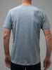 Men's Active T - Grey - Back