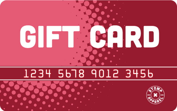 Stomp Apparel Website Gift Card ($50/$75/$100/$200)
