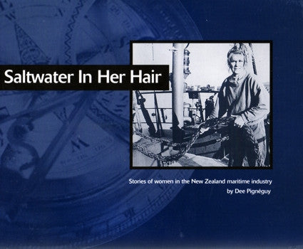 Saltwater In Her Hair by Dee Pignéguy