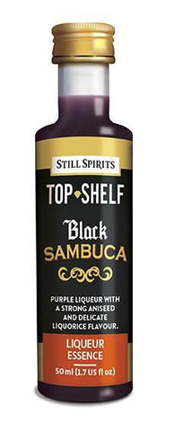 Top Shelf Liqueur - Black Sambuca
