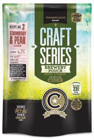 Cider Pouch - Strawberry & Pear - Mangrove Jack