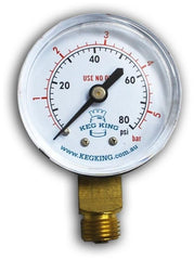 Low Pressure Gauge 0-80psi
