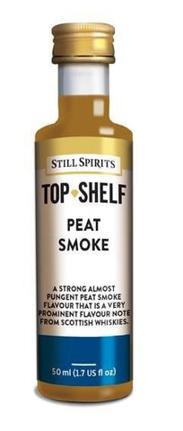 Top Shelf Note - Peat Smoke