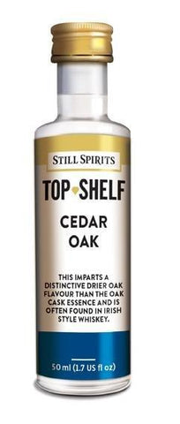 Top Shelf Note - Cedar Oak