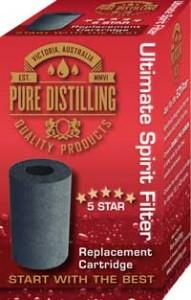 Pure Distilling - Spirit Filter replacement Cartridge