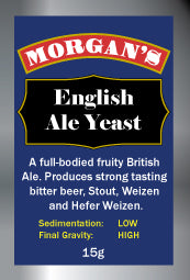 Yeast English Ale - Morgan's