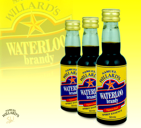 Samuel Willard's Gold Star Waterloo Brandy