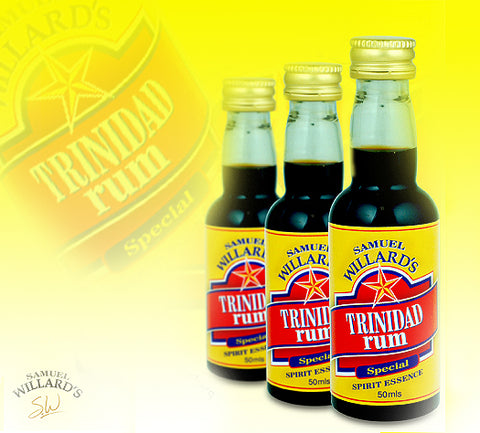Samuel Willard's Gold Star Trinidad Rum