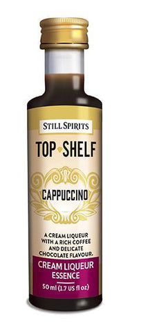 Top Shelf Liqueur - Cappuccino
