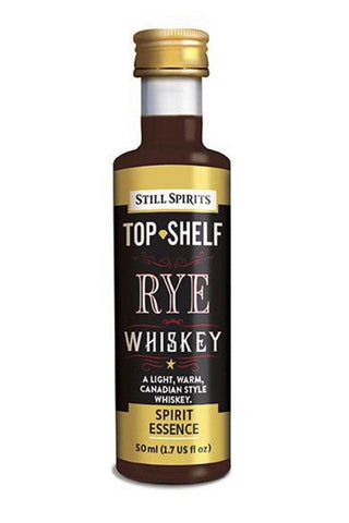 Top Shelf Spirit - Rye Whiskey