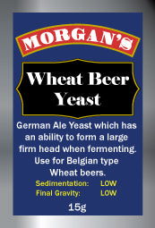 Morgans Yeast - Wheat Beer
