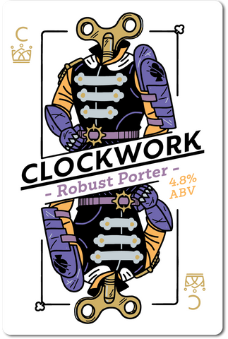 All in Brewing FWK - Clockwork - Robust Porter