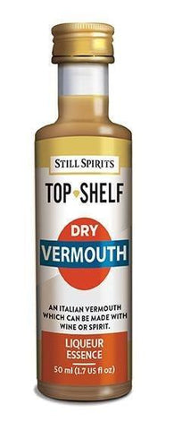 Top Shelf Liqueur - Dry Vermouth