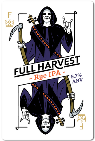 All in Brewing FWK  - Full Harvest - Rye IPA