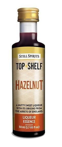 Top Shelf Liqueur - Hazelnut