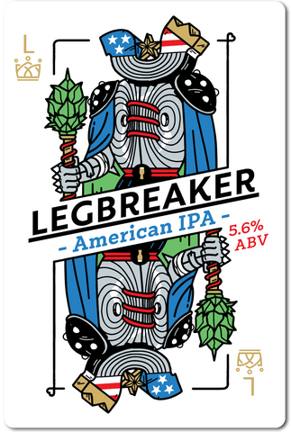 All in Brewing FWK - Legbreaker- American IPA