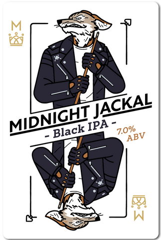 All in Brewing FWK  - Midnight Jackel - Black IPA