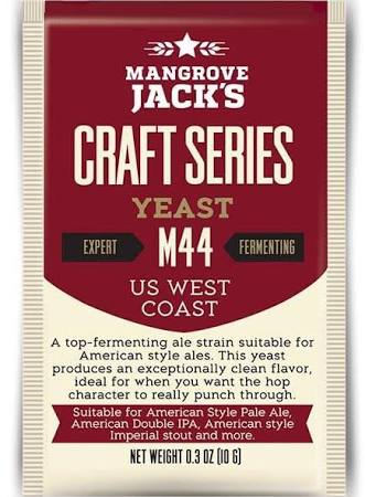 Mangove Jack Yeast - M44 - US West Coast