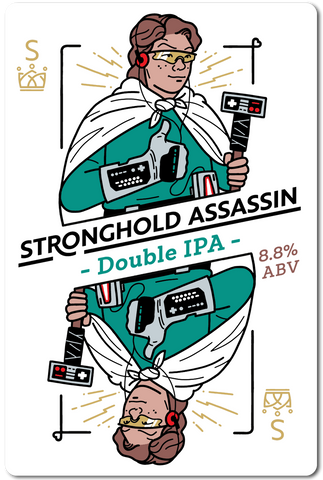 All in Brewing FWK - Stronghold Assassin - Double IPA