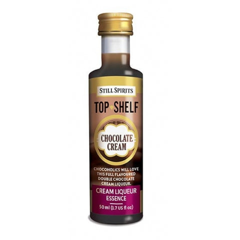 Top Shelf Liqueur - Chocolate Cream
